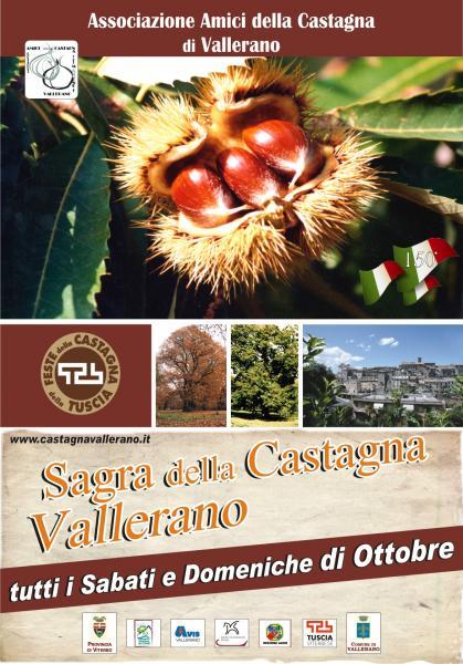 Sagra della castagna, Vallerano VT, 12/10/2013 - Lazio in ...