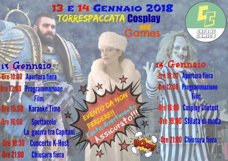Torrespaccata Cosplay e Games