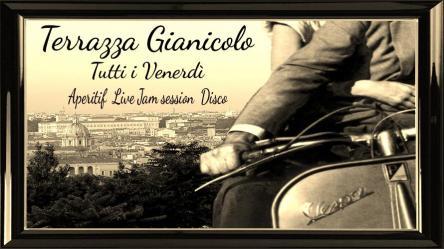 Terrazza Gianicolo Venerdi Aperitivo Live Discoteca Roma Rm