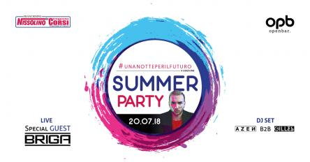 Summer Party 2018 #unanotteperilfuturo